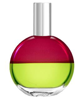 Magenta and olive colour mirrors