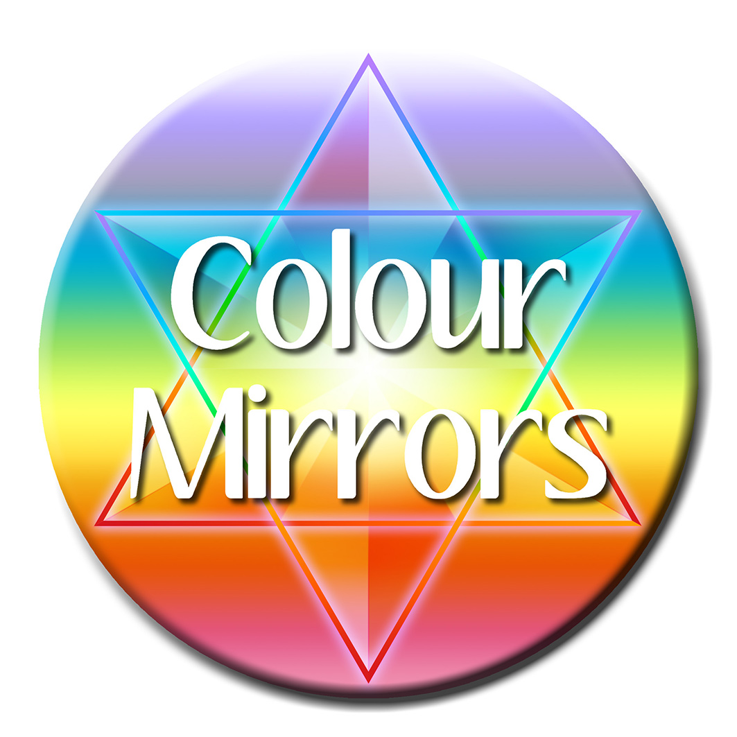 Color Therapy For Your Home: Colour Mirrors